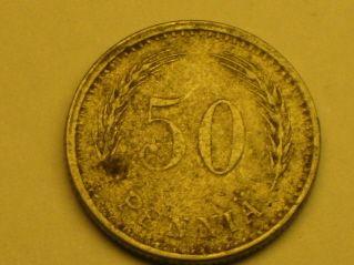 50 penniä 1945, R89