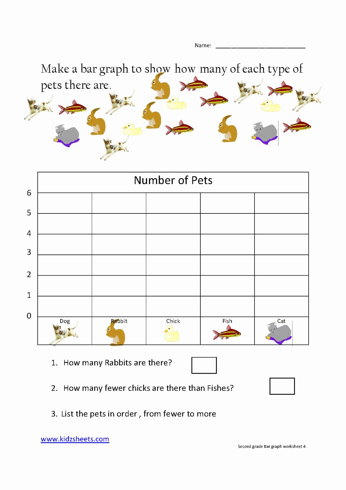 Free Graph Worksheet for Kindergarten   Matematika kelas satu [ 1600 x 1131 Pixel ]