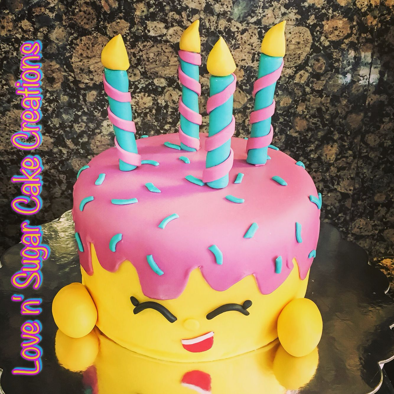 Shopkins birthday cake for my daughter Mary Wishes shopkins