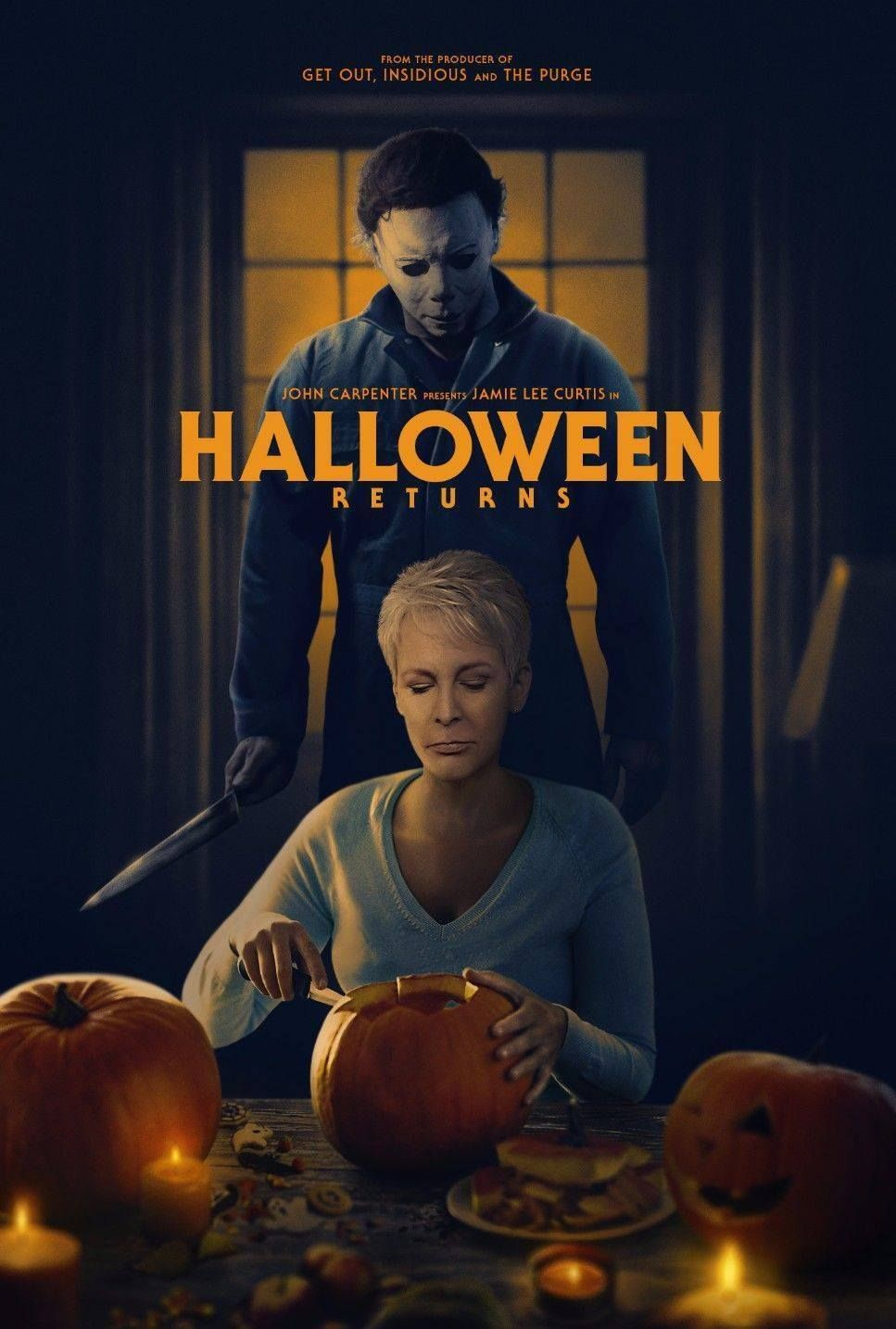 halloween 2018 967 x 1434 movieposterporn. Black Bedroom Furniture Sets. Home Design Ideas
