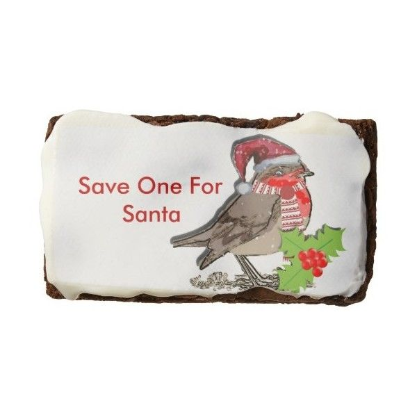 Save One For Santa Cute Little Robin Red-Breast found on Polyvore