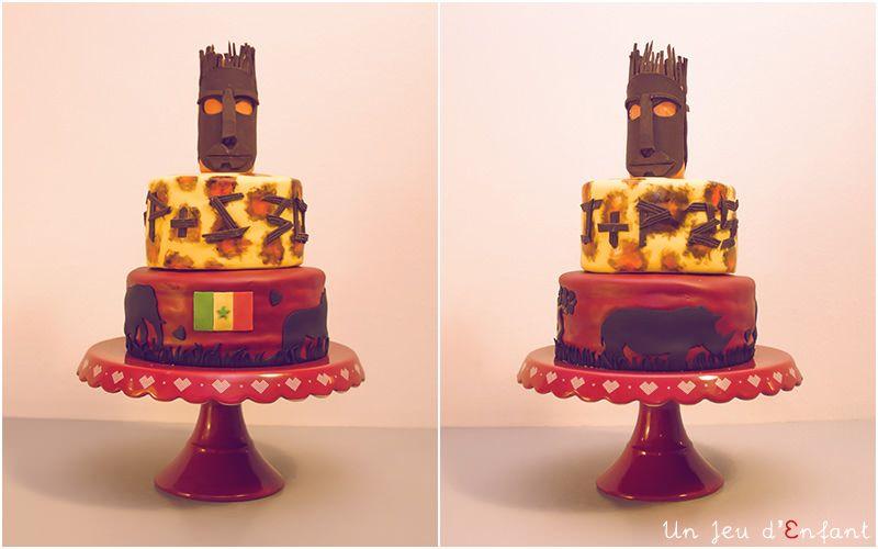 gateau Sénégal / african cake
