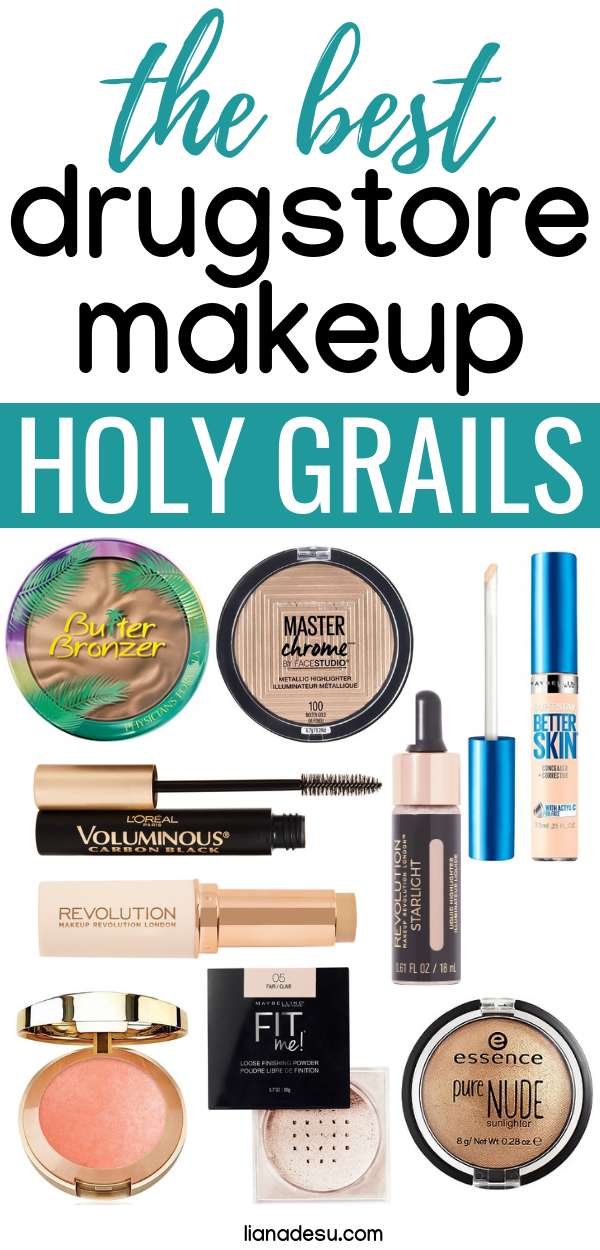 10 Drugstore Makeup Holy Grail Products that Never Let Me