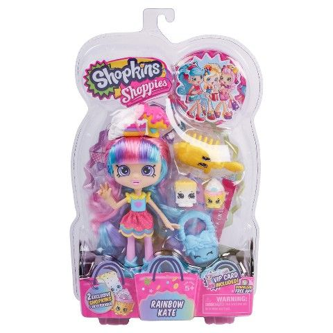 Shopkins Shoppies Doll - Rainbow Kate