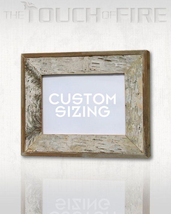 Real Natural Birch Picture Frames | Woodwork | Pinterest | Birch ...