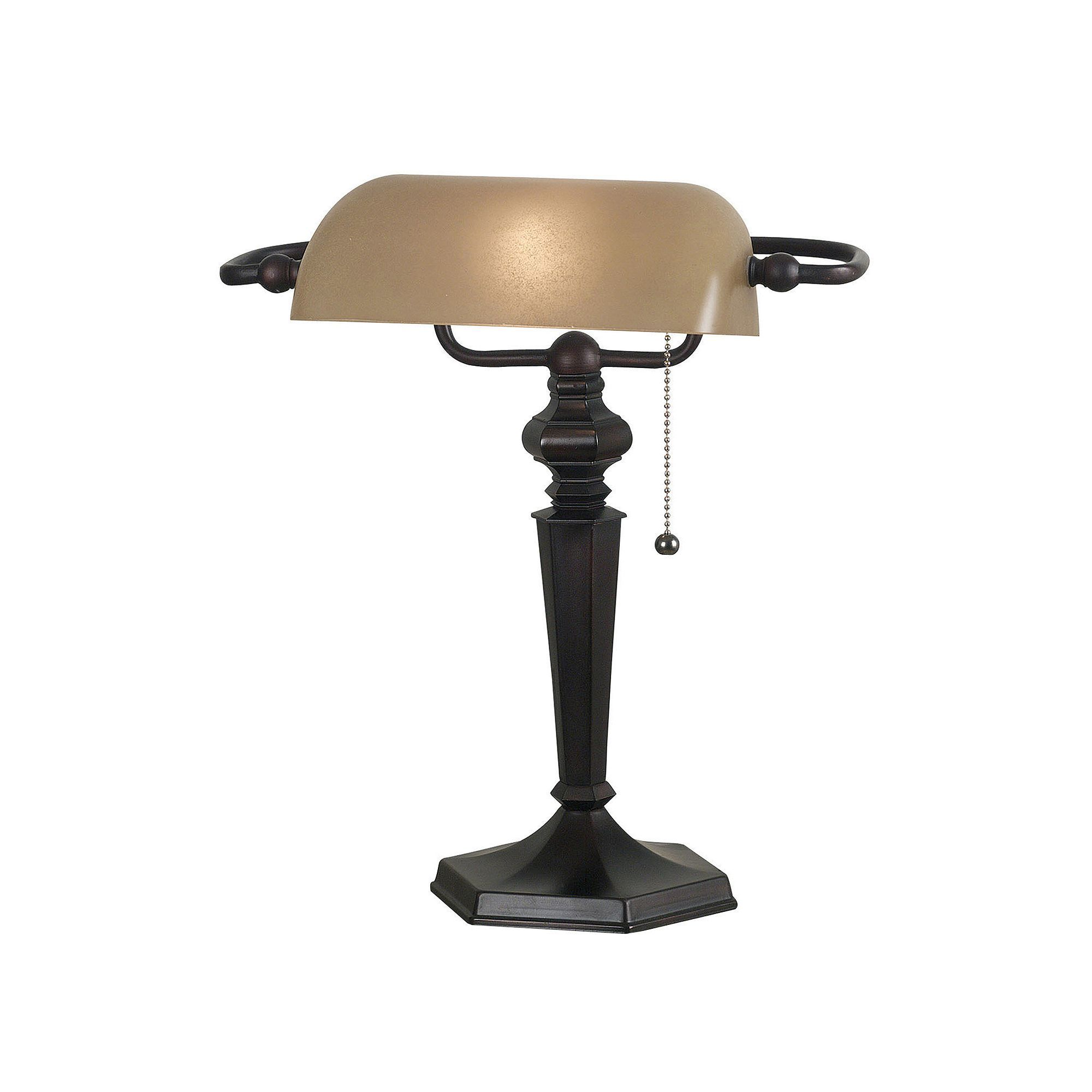 Chesapeake desk table lamp brown