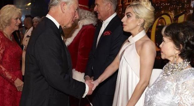 What Lady Gaga Claims Prince Charles Is Not Human But A
