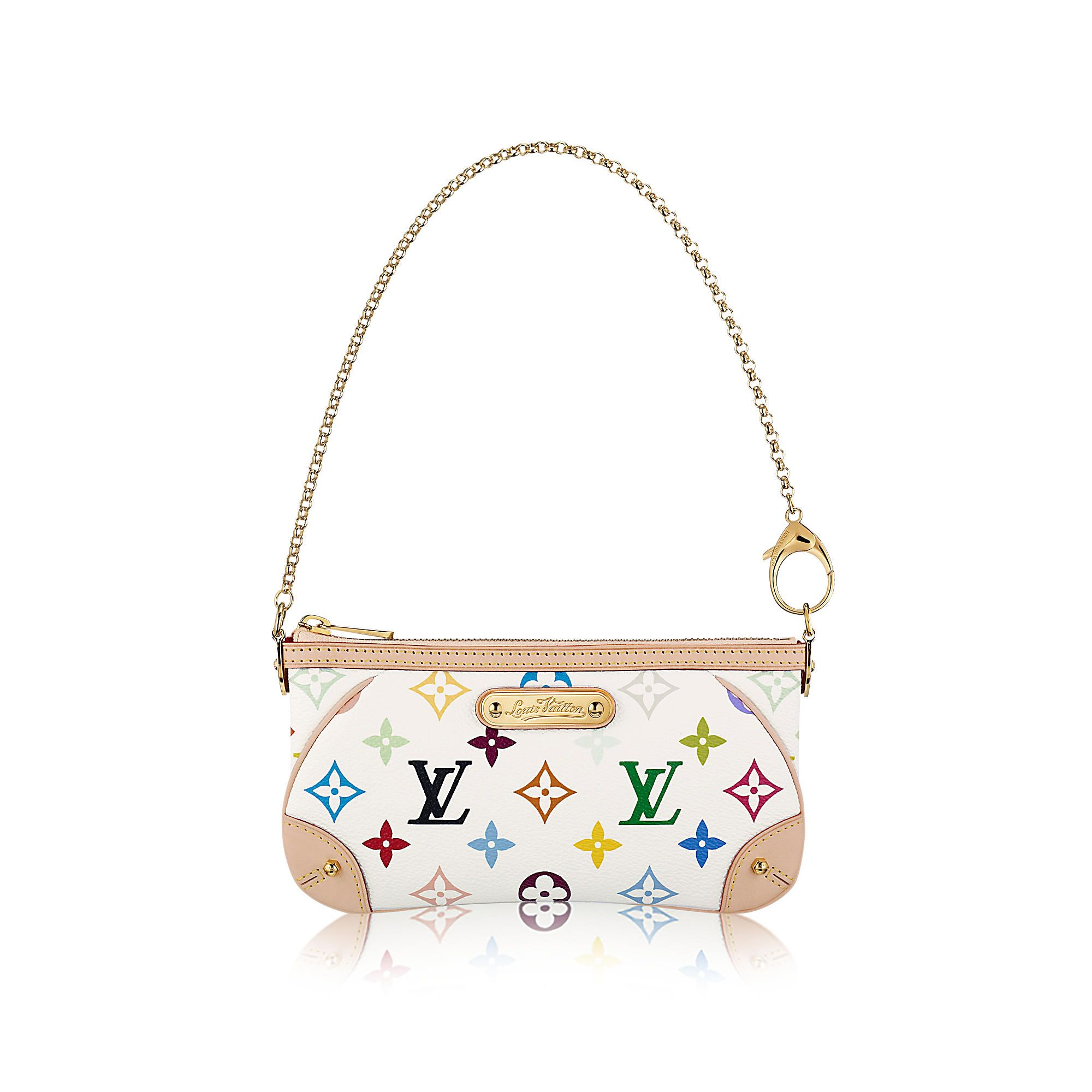 206c50f13b86 Discover Louis Vuitton Milla Clutch MM via Louis Vuitton