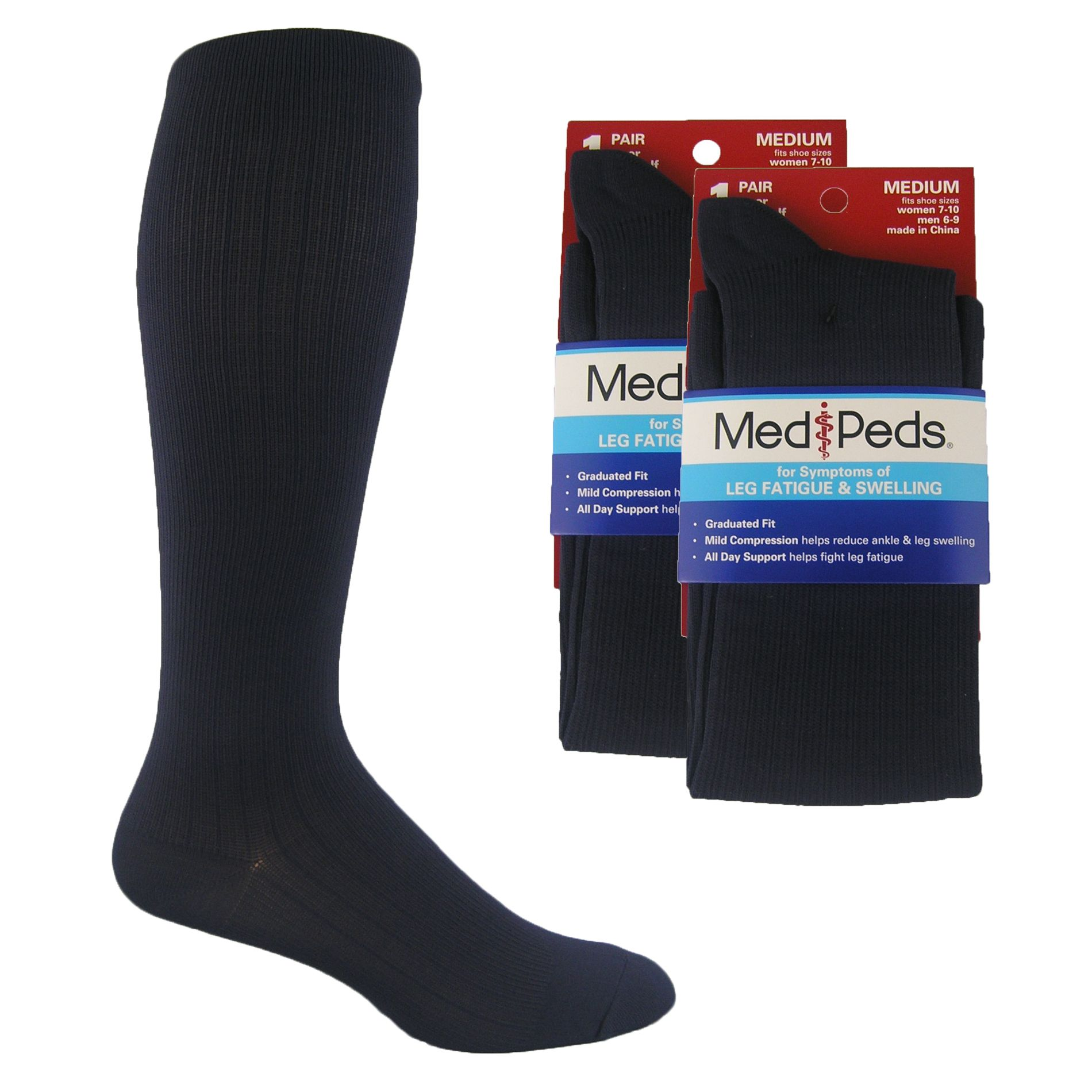 dfee285d95 These MediPeds are compression over the calf socks made of Nylon for everyday  dress. The