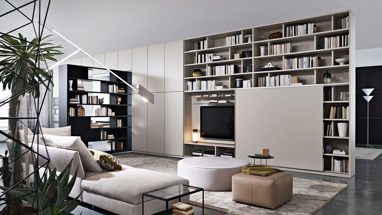 505 Bookshelves And Multimedia Molteni & C | Shelves | Pinterest ...