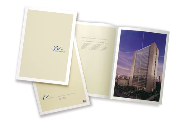 Image Of A Sales Brochure Created By Otherwise Inc. For The