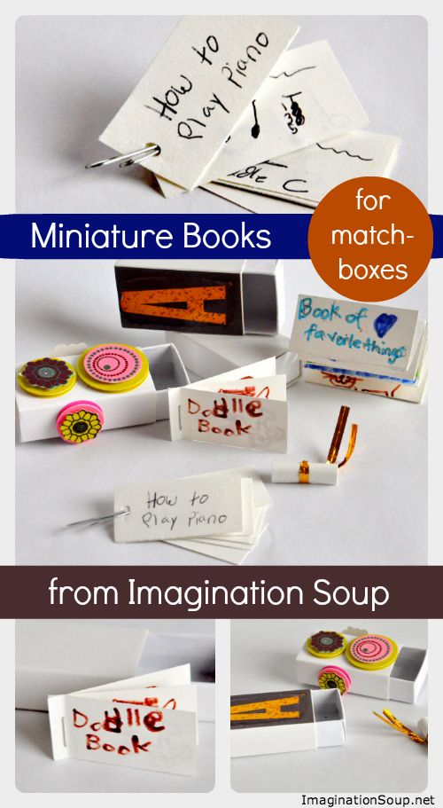 Diy Miniature Blank Books For Matchboxes Mini Books Diy