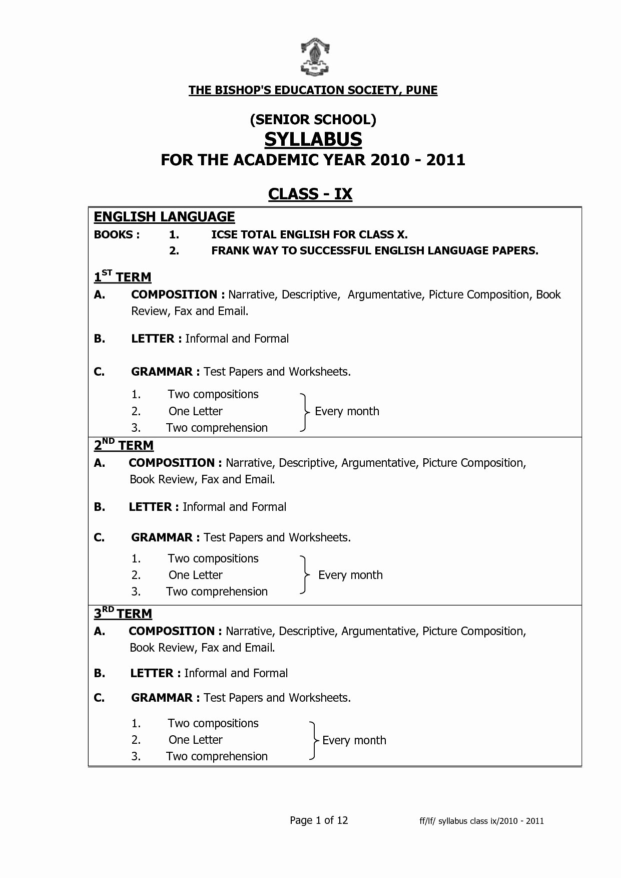 1st Grade Grammar Worksheets To Download
