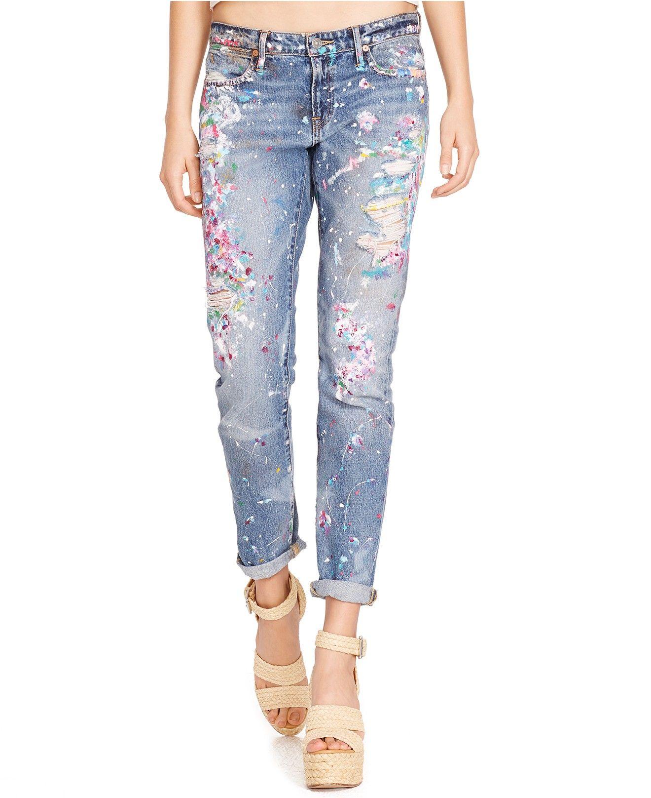 1daeecffe623 Polo Ralph Lauren Slim-Fit Boyfriend Jeans