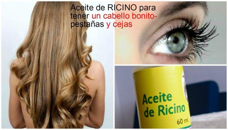 Aceite De Ricino Para El Cabello Cejas Y Pestañas How To Grow Eyelashes Beauty Hacks Beauty Skin Care