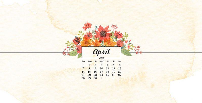 April Calendar Preview Calendar Wallpaper Free Wallpaper