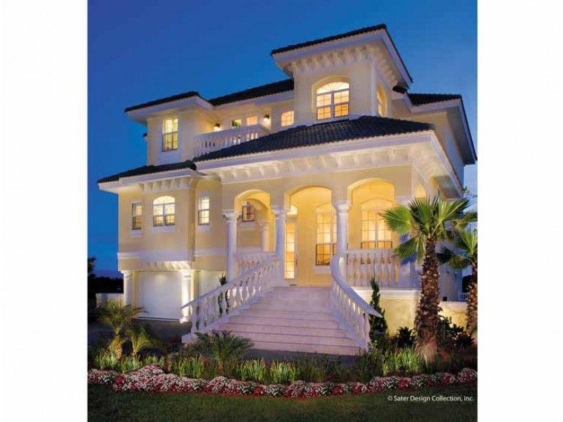 Eplans Italianate House Plan - Modern Italian Renaissance - 2374 ...