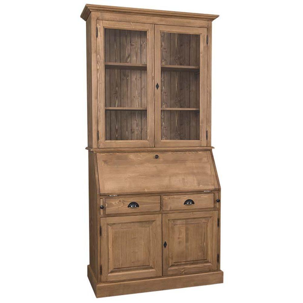 b roschrank vitrine b cherschrank sekret r wohnzimmer b ro arbeitszimmer franz sicher. Black Bedroom Furniture Sets. Home Design Ideas