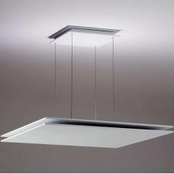 Photo of Lumini Quadratta pendant lamp silver standard version dimmable via PhasedesignDoltolike.de