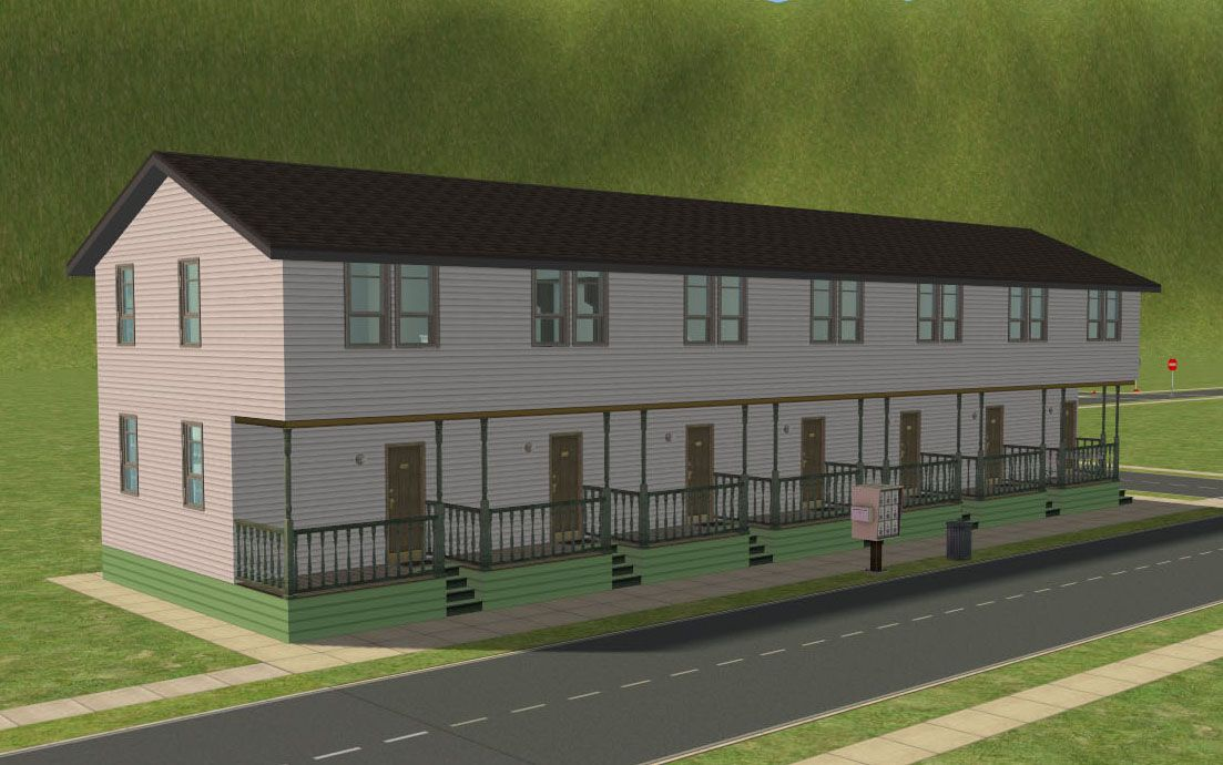 Mod The Sims - [No CC] Lucha Lodgings - $923-$969 apartments