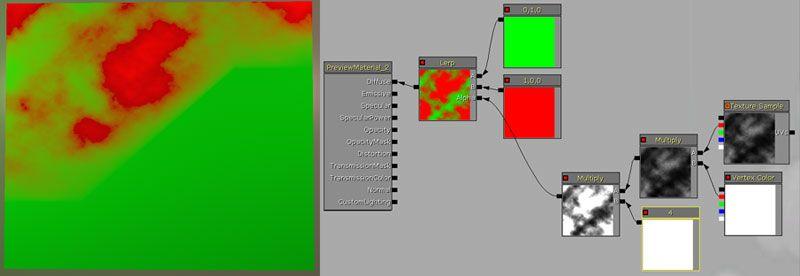 Chris Albeluhn - UT3: Vertex color blending (adding variation)