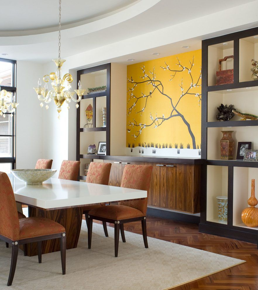 Image Result For Contemporary Dining Room Built In Cabinets