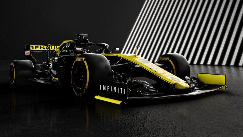 Renault Formula One Team Reveals Its Car And Improved Engine Car Formula 1 Car Formula One