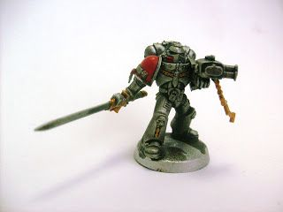 Generic 40K blog: How to paint a Grey Knight, quick and easy