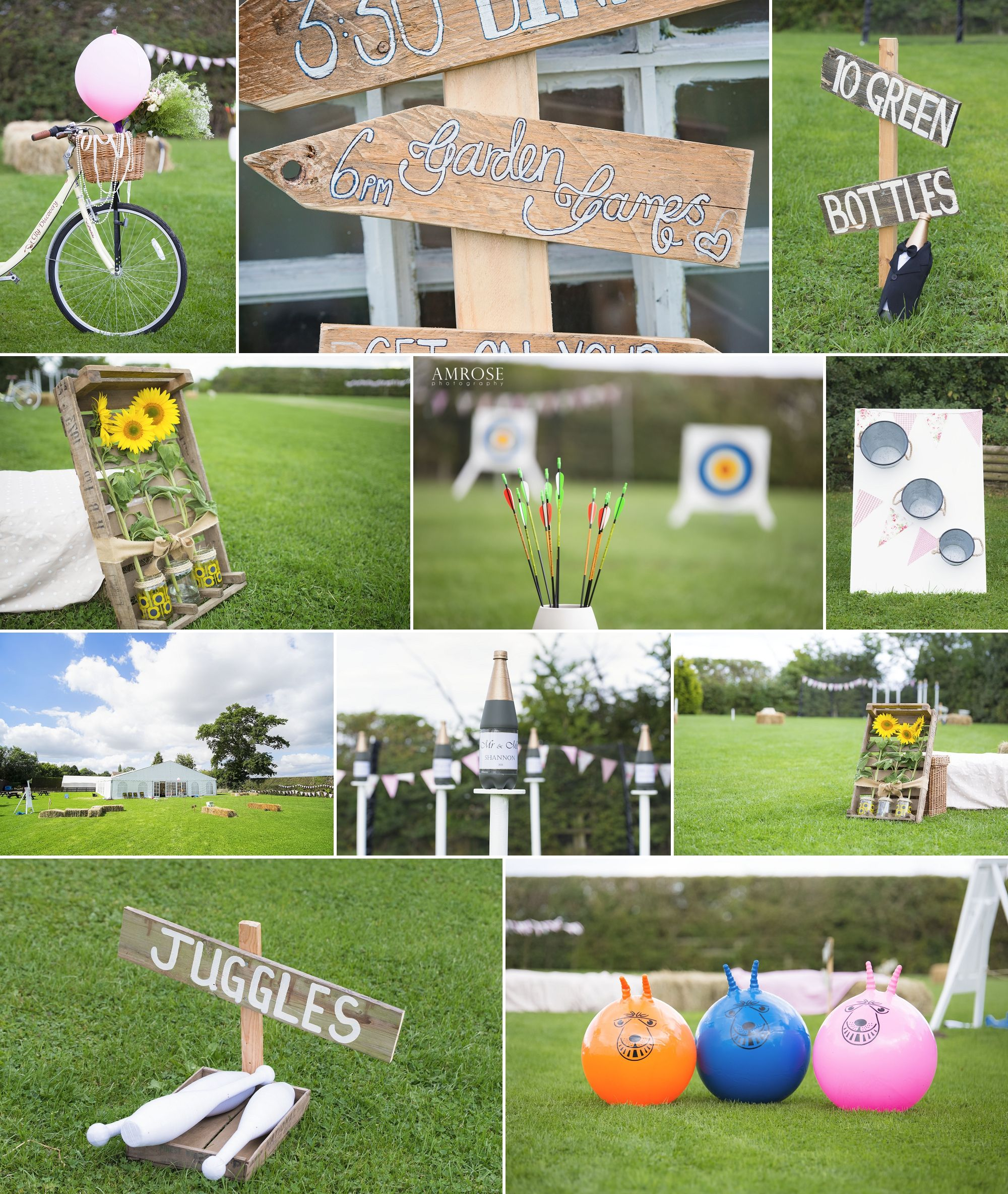 Video Game Wedding Ideas: Vintage Garden Game Ideas For Your Wedding Reception