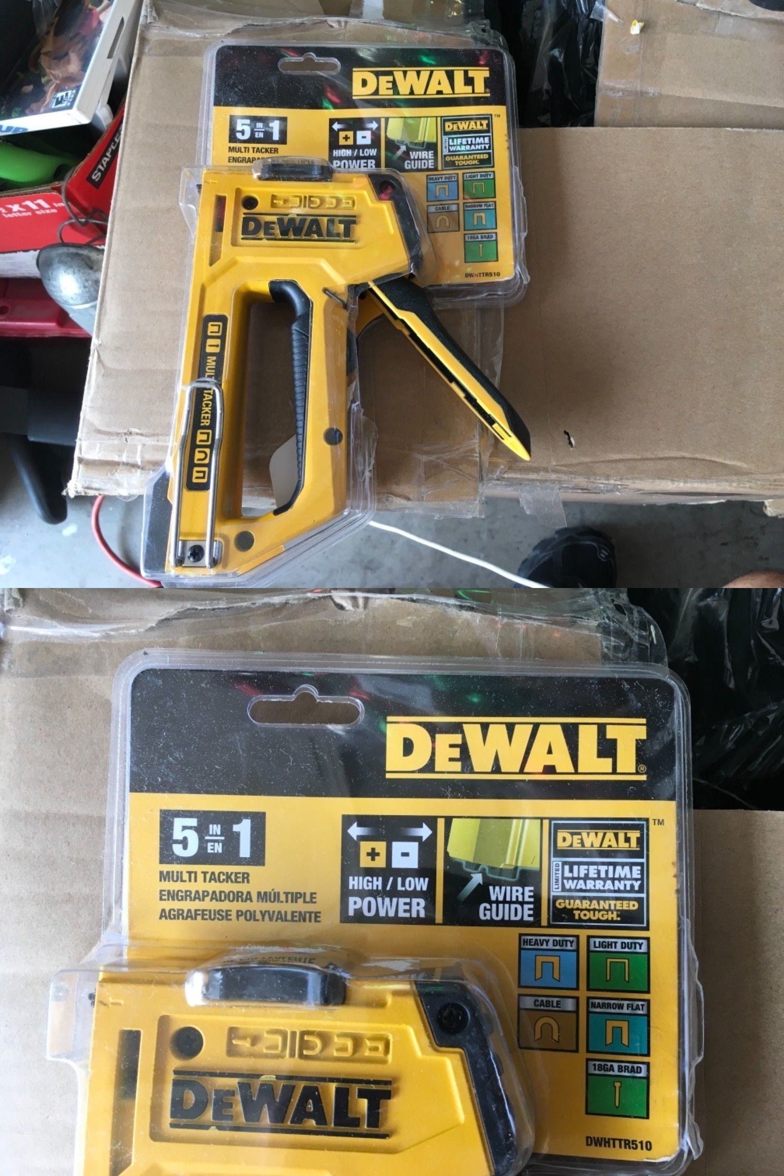 Nail And Staple Guns 122828 Dewalt 5 In 1 Multi Tacker