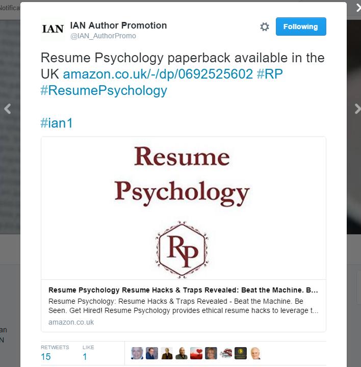 Psychology Resume Twitter Ad  Uk Post  The Candy Maker Resume  Pinterest  Uk Post
