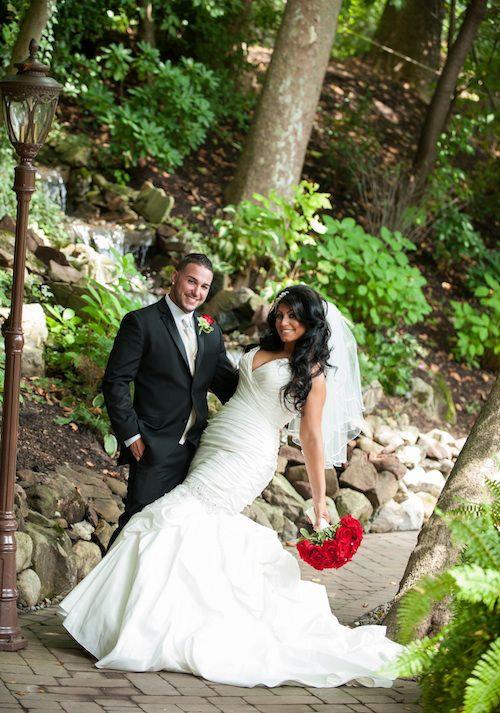 OK! Magazine   Jerseylicious Star Tracy DiMarco Marries Corey Eps ...