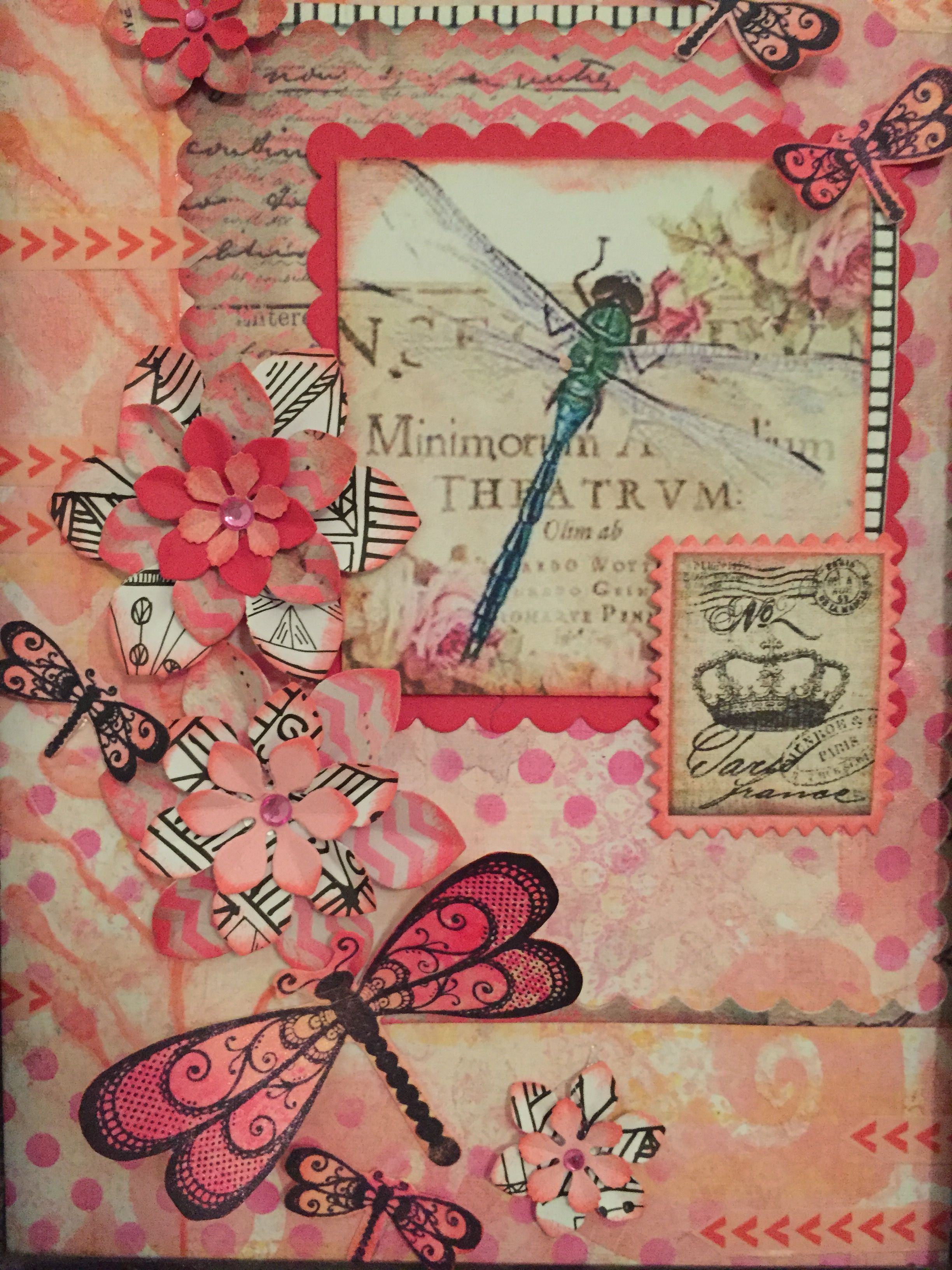 Libelle roze