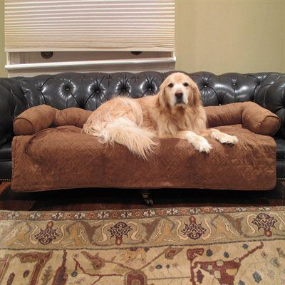 The Carolina Pet Company Diamond Quilted Couch Protector gives you peace of mind while your pet lounges on a couch or chair.