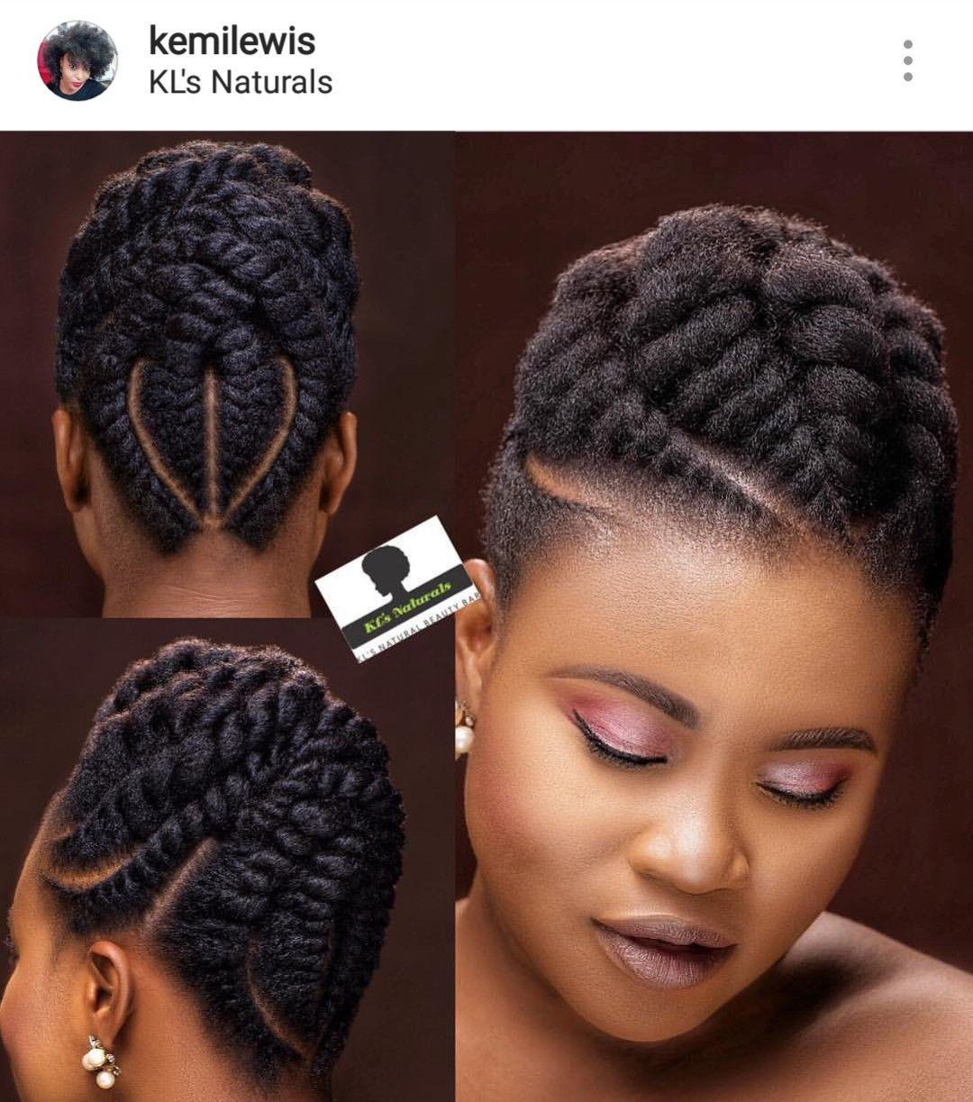 26+ Tresse coiffure naturel inspiration