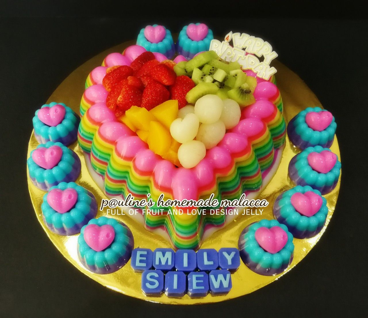 Paulineshomemademalacca Jelly Cake Cake Jelly