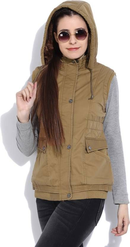 59c4475ccc03a6 Fort Collins Sleeveless Solid Women s Jacket