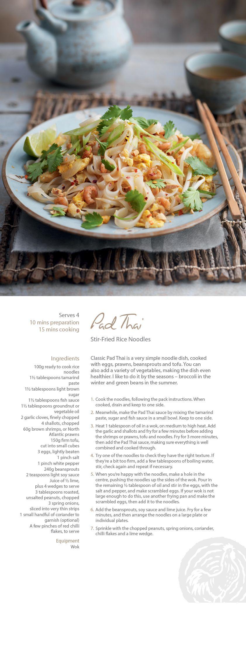 Pad Thai | PASTA | Pinterest | Tofu, Noodle and Meals
