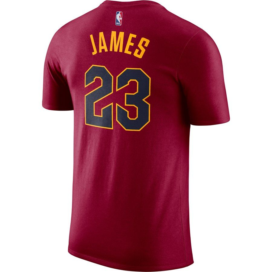 98d34884 Youth Cleveland Cavaliers LeBron James Nike Maroon Name & Number T-Shirt # Cavaliers#LeBron#Youth