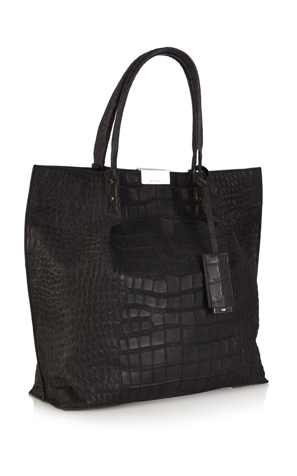 Limited Edition croc effect tote