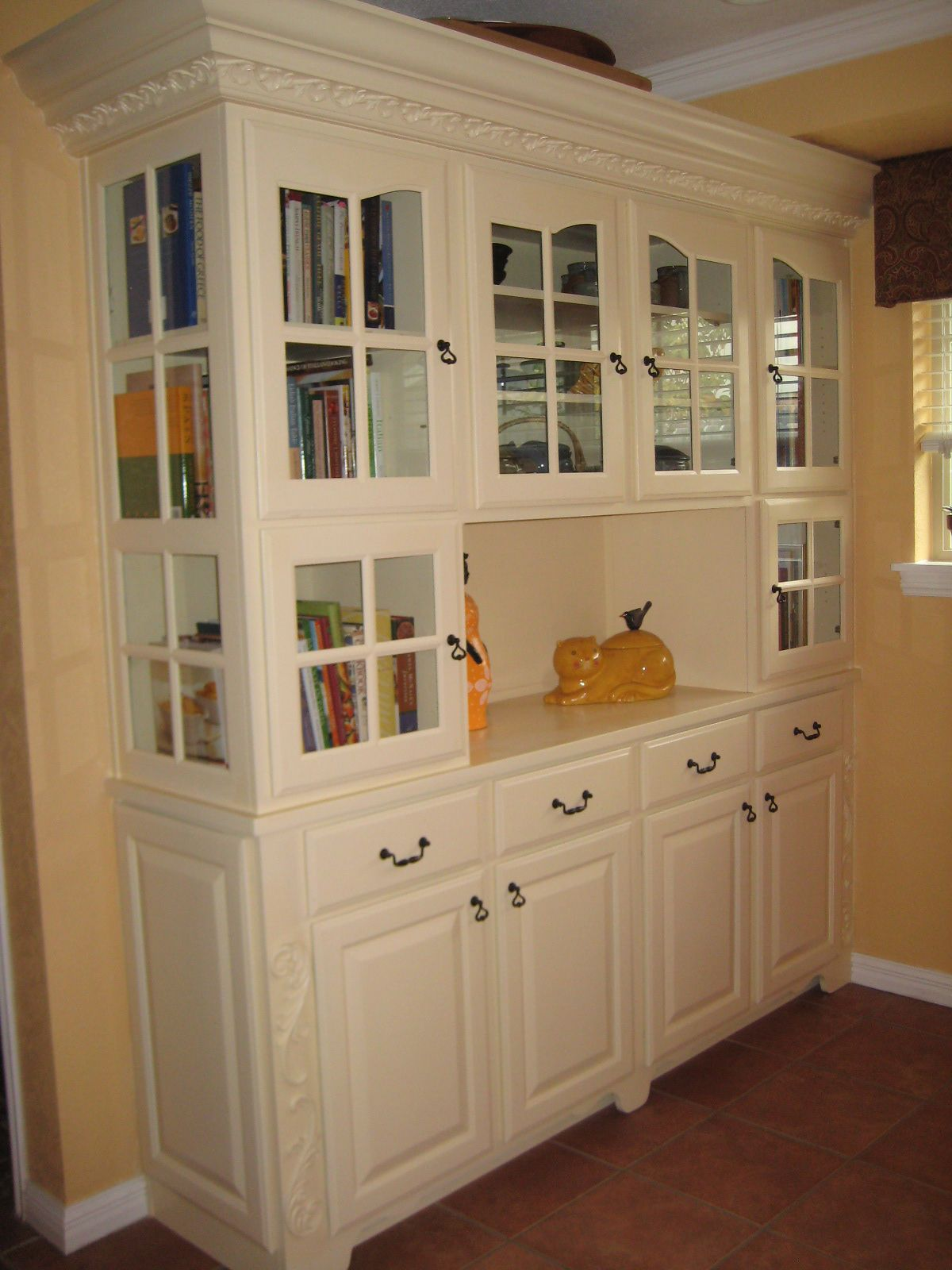 Cookbook Cabinet