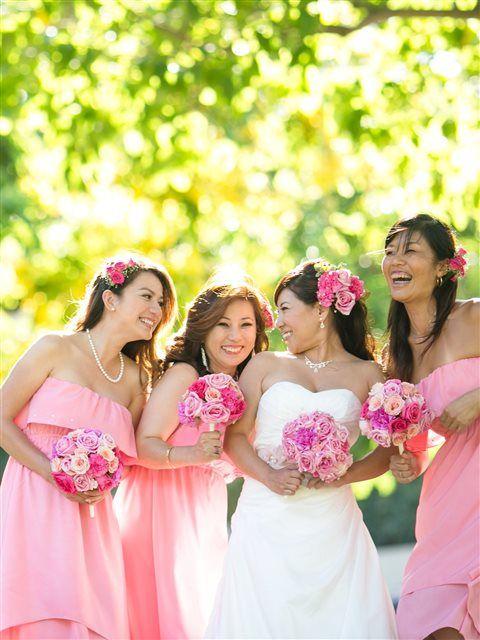 Hawaiian Wedding Bridesmaid Dress