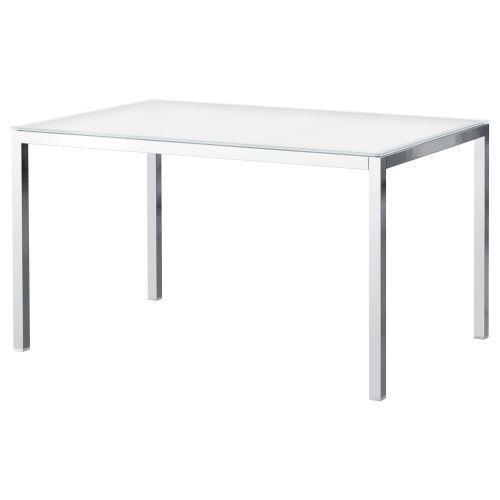 IKEA Puerto Rico - TORSBY Mesa de comedor, vidrio blanco ...