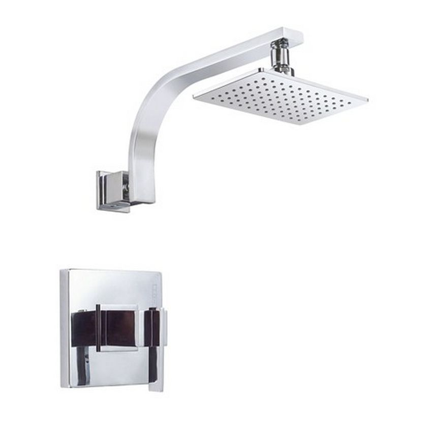 The Sirius shower faucet by Danze has a square design and is ...