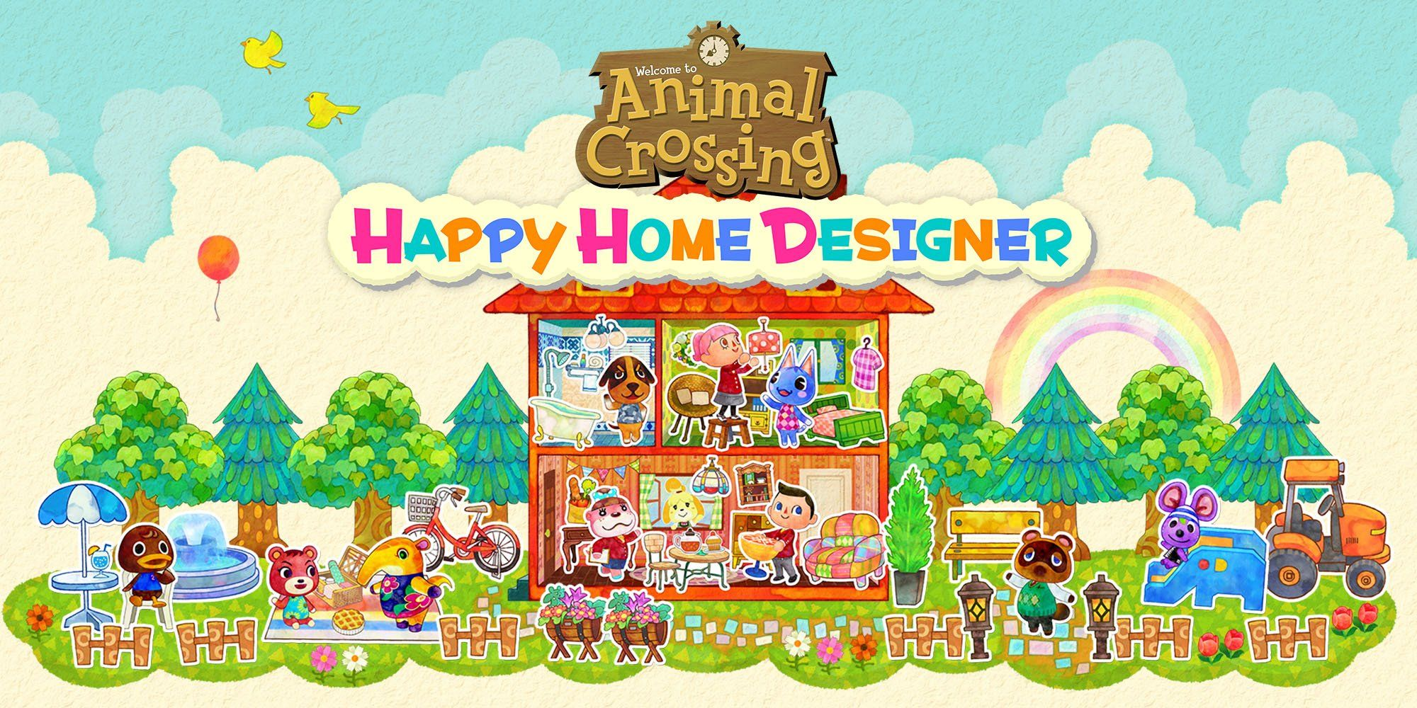 Animal Crossing Happy Home Designer Review Animal