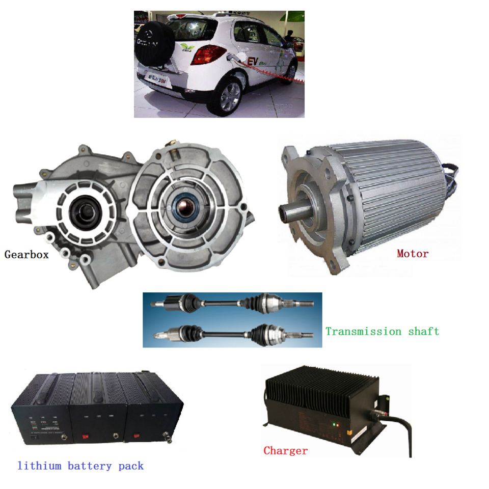 3 5KW High Torque Low Speed Electro Motor for All-electric Car