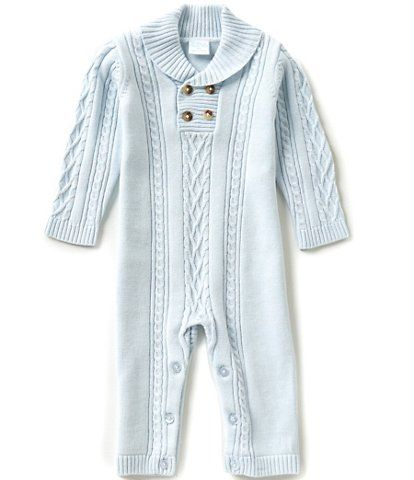 52c8c188513 Edgehill Collection Baby Boys Newborn-6 Months Long-Sleeve Sweater Coverall