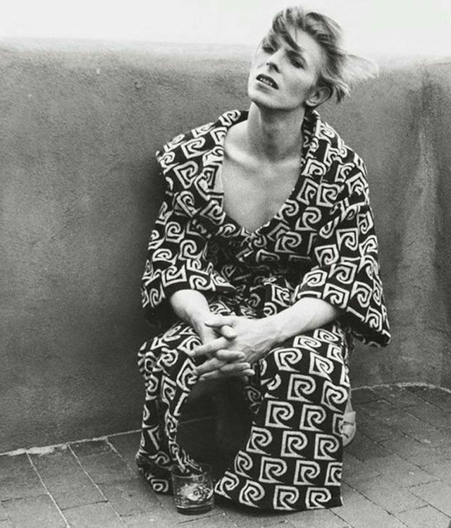#what is up with those pjs #bowie #70s
