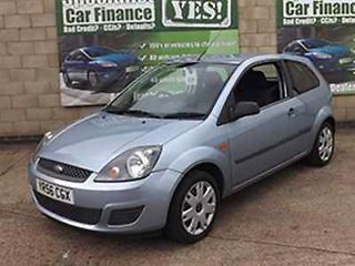 2006 Ford Fiesta Style Climate Finance Available No Credit