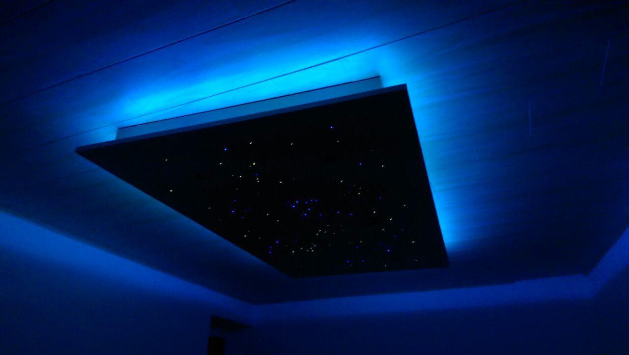 Led Sternenhimmel Sternenhimmel Glasfaser Led Sterne Sternenhimmel Infrarotheizung Elektromeister